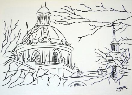 El Monasterio y el Cimborrio