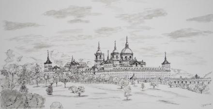 El Monasterio desde La Casita del Principe