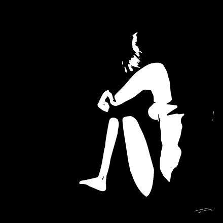 Sentada black&white