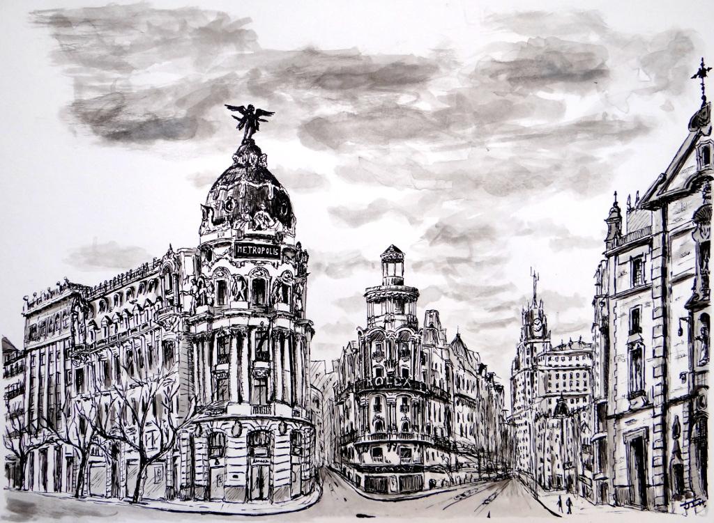 Edificio Metrópolis y Gran Vía