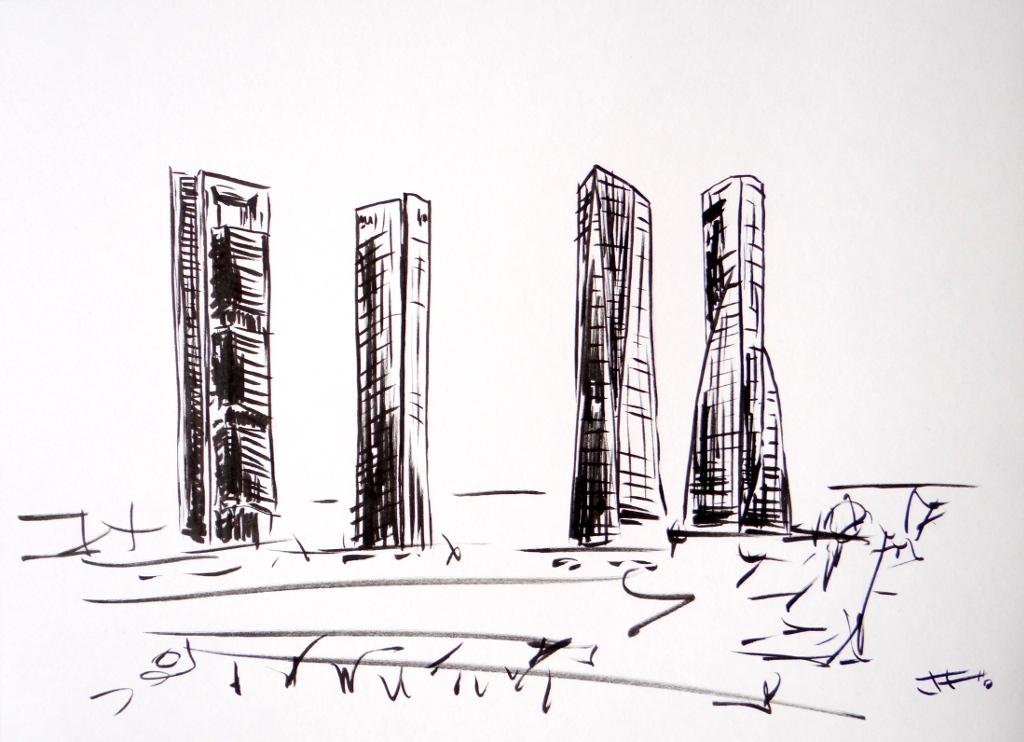 Las 4 torres (Madrid)