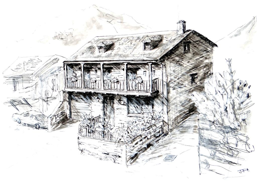 Casa de Maribel y Eladio, Tejeira