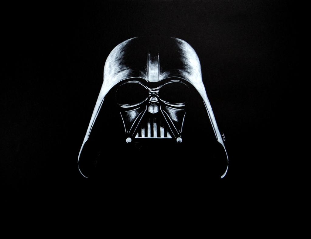 Dark Vader (Black & White)