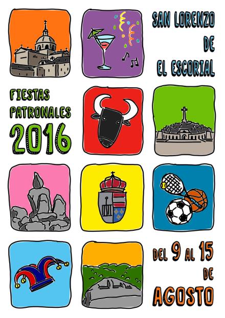 Propuesta cartel fiestas de San Lorenzo 2016