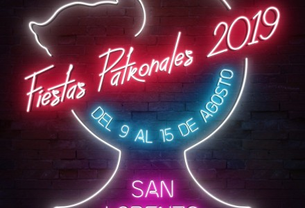 Cartel fiestas de Sana Lorenzo 2019
